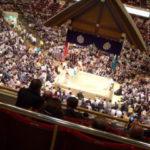 両国国技館の相撲