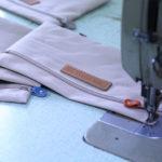 シュランケンカーフで作る人気のトートバッグ制作工程3