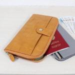 【夏休み特集】お財布のおばけみたいなクラッチバッグ